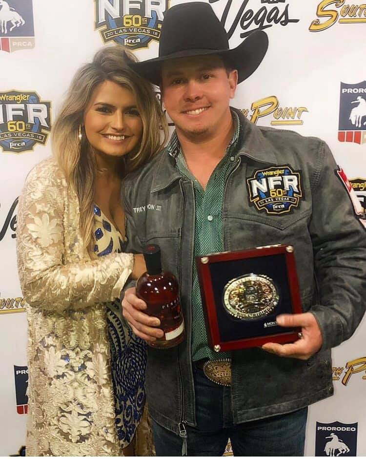 Trey Benton III Wins Round 1 at The National Finals Rodeo