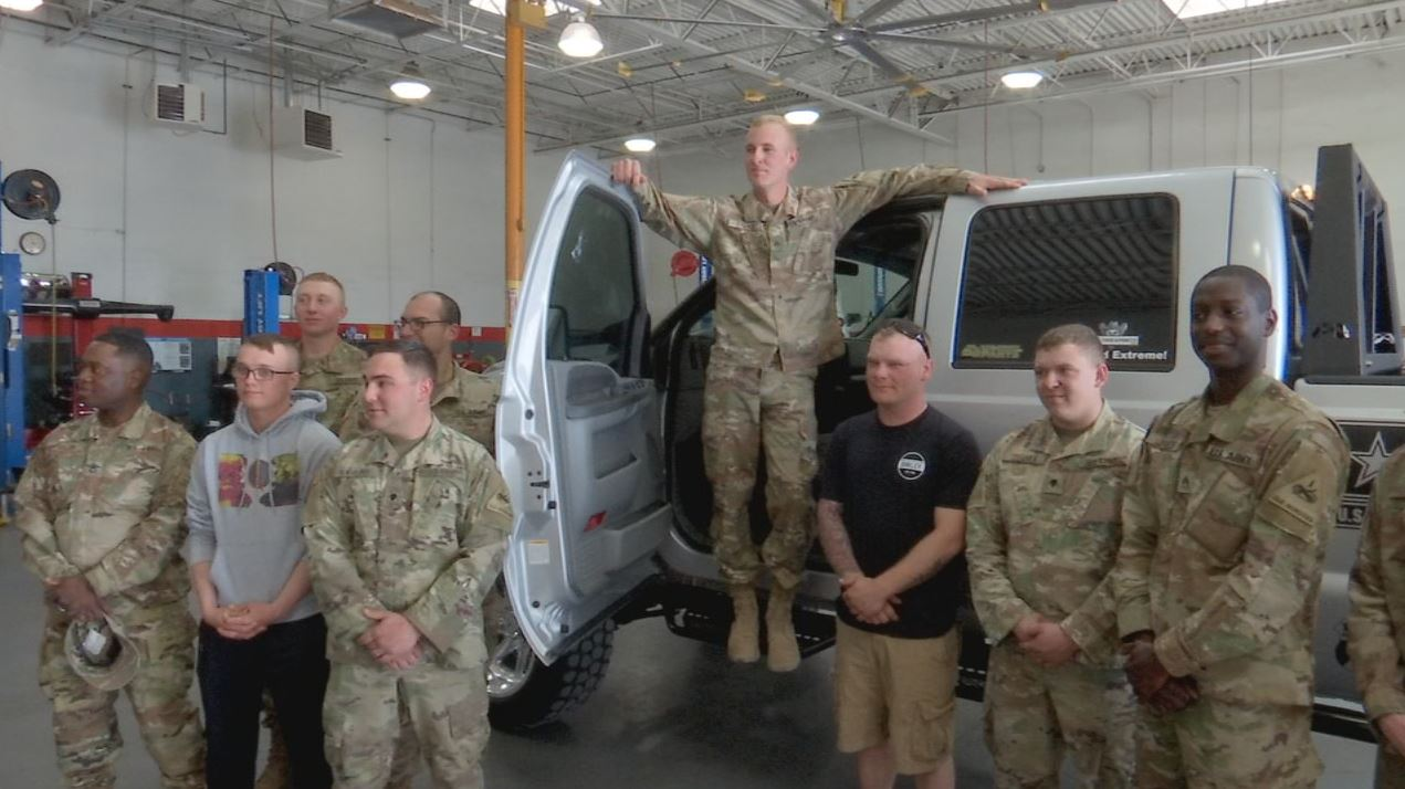Ranch Hand Steps In To Help Soldier Who's Truck Was Stolen